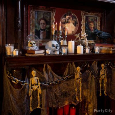 themes in house of spirits haunted house decorating ideas party city