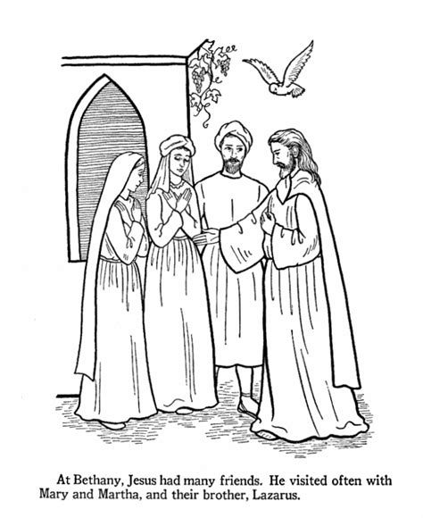 free bible coloring pages and martha and martha coloring sheet free coloring pages on