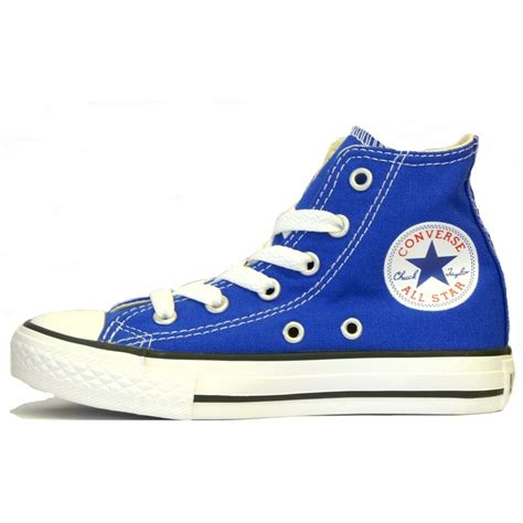 converse shoes converse ss12 boys dazzling blue hi pumps