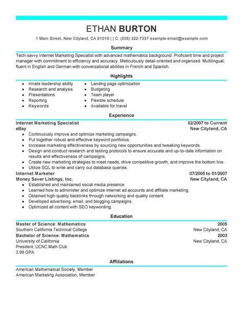 social media resume creative social media manager resume