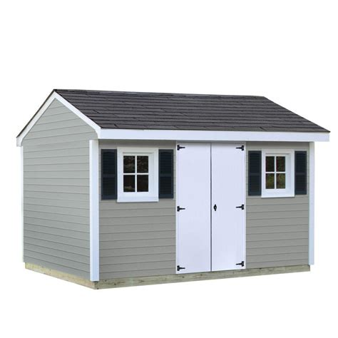 sheds usa installed classic  ft   ft vinyl shed