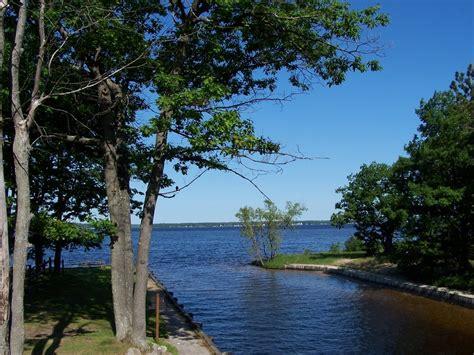 cadillac michigan cadillac mi canal connecting lakes cadillac and