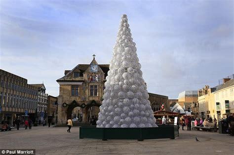 britain s worst christmas tree in brinnington is