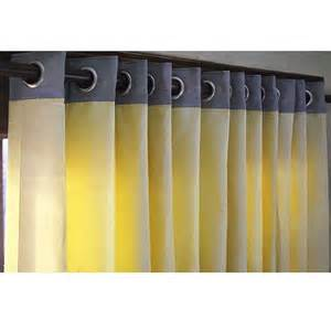 Yellow Grey Curtains Yellow And Grey Curtain Panels 52x84 Grommet