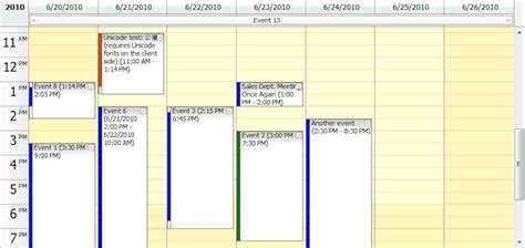 Calendar Java Daypilot Pro For Java 1 0 Daypilot For Java