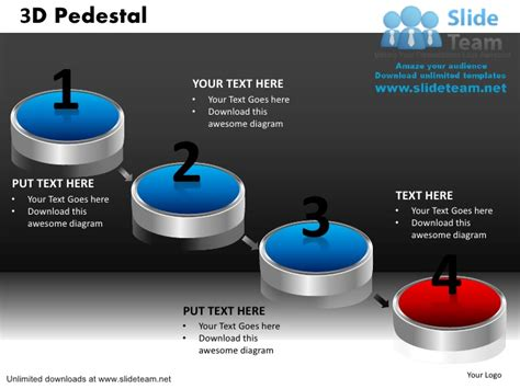 how to create a powerpoint template how to make achievement 3 d pedestal powerpoint slides and