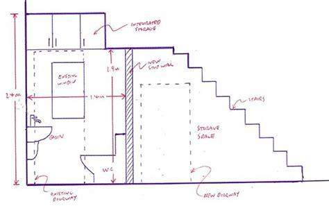 minimum width for bathroom best 25 bathroom under stairs ideas only on pinterest