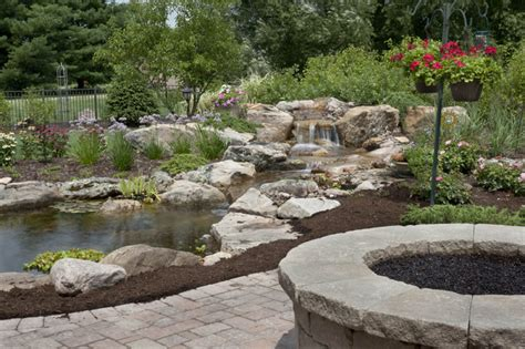 aquascape chicago water gardens and waterfalls traditional landscape