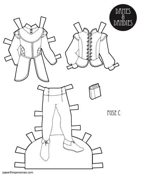 Paper Doll Clothes Coloring Pages by A Coloring Page Printable S Paper Doll Clothing