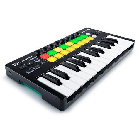Novation Launch Key 25 Mkii novation launchkey mini mk2 midi controller keyboard at