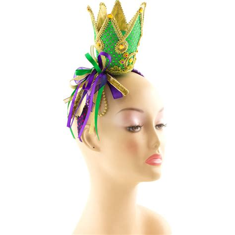Crown Headband elaborate crown mardi gras crown headband ct941asst
