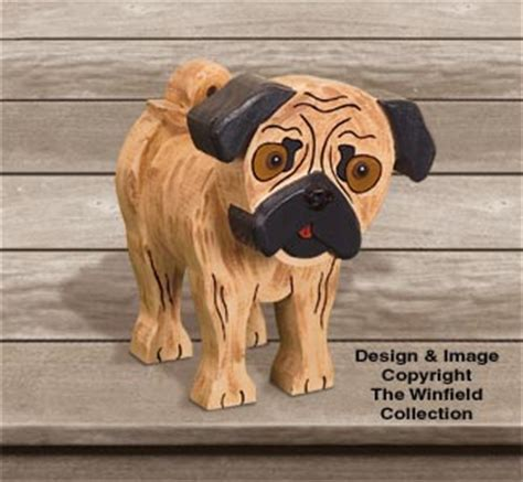 pug items new items layered pug woodcraft pattern