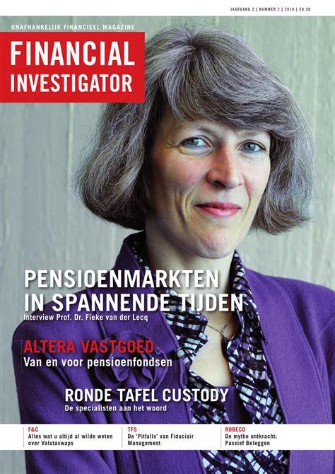 financial investigator 02 2010 by financial investigator publishers issuu
