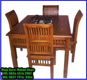 Meja Kursi Warung Makan meja makan 4 kursi minimalis meja makan jati minimalis