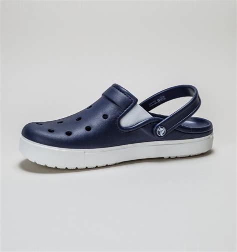 Sandal Crocs Sandal Crocs Citilane Clog crocs citilane clog navy white womens shoes treds