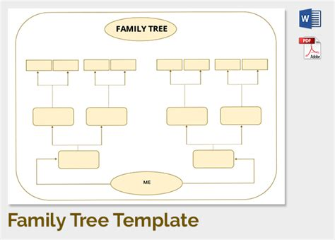 fill in the blank family tree template fill in the blank family tree template templates collections
