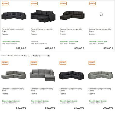 acheter canapé d angle convertible pas cher o 249 acheter un canap 233 d angle convertible pas cher sur le web