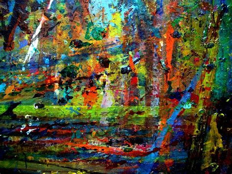 acrylic painting jungle jungle boogie 130306 4 painting by aquira kusume