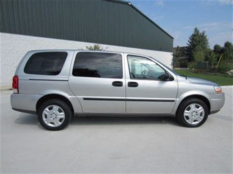 books about how cars work 2008 chevrolet uplander interior lighting buy used 2008 chevy uplander cargo work van minivan 1 owner clean partition must see lqqk in