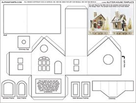 printable tudor house template afficher l image source maison pain d epices pinterest