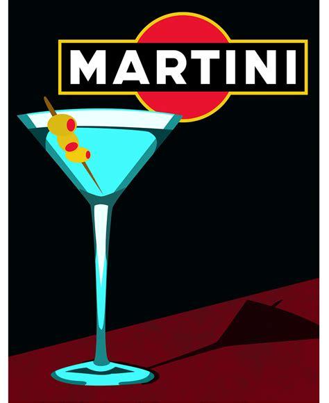 martini and poster martini mercedes mccann graphic design and web development
