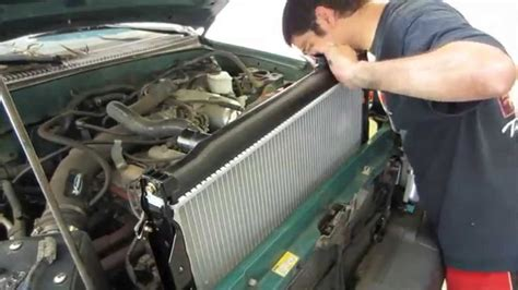 automobile air conditioning repair 2006 toyota 4runner transmission control tacoma radiator replacement youtube