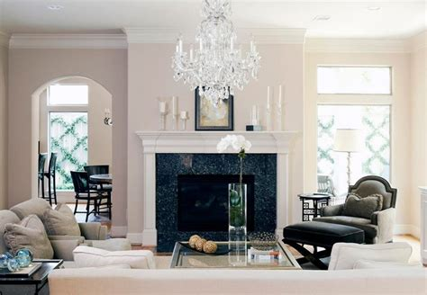 chandeliers for living room a chandelier in every room kelly bernier designs