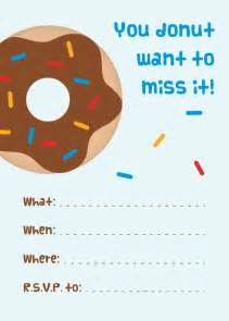 mini donuts free printable donut invitations emmy gabbie paperstyles fabulously