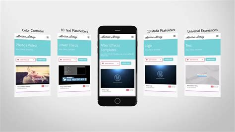 100 adobe after effects presentation templates