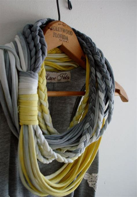 1000 ideas about t shirt scarves on recycled