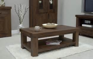 kendo solid modern walnut living room furniture coffee table ebay