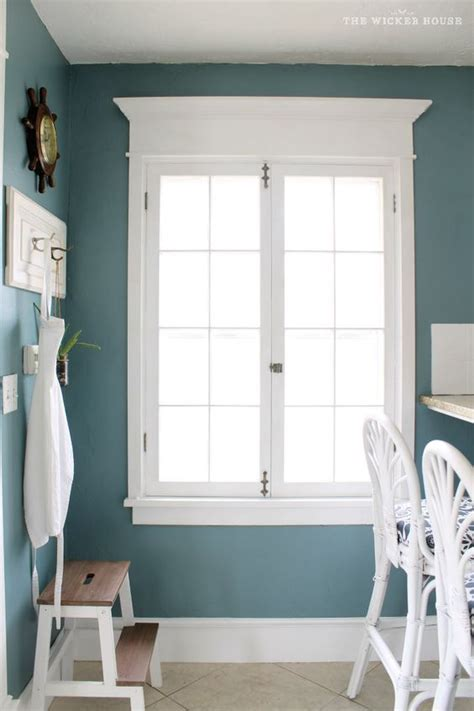 wall color is aegean teal from benjamin beautiful teal the wicker house a paint