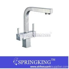 hot cold water ro filter kitchen mixer faucet f3305 hot and cold water and ro filter chrome kitchen sink