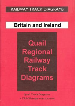 great britain  ireland quail railway track diagrams stanfords