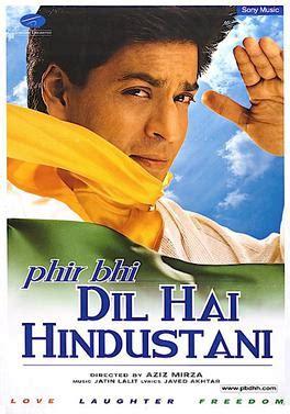 Dvd Fiom India Phir Bhi Dil Hai Hindustani phir bhi dil hai hindustani