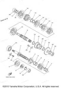 2001 yz125 yz125n1 yamaha motorcycle transmission diagram and parts