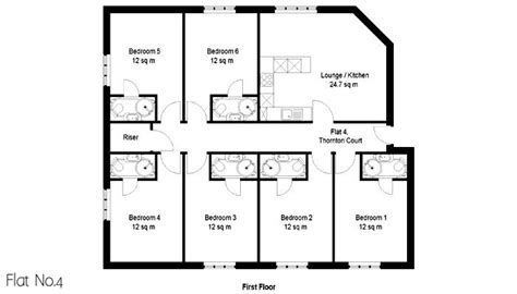 student accommodation floor plans thornton court exeter floor plans exceptional new