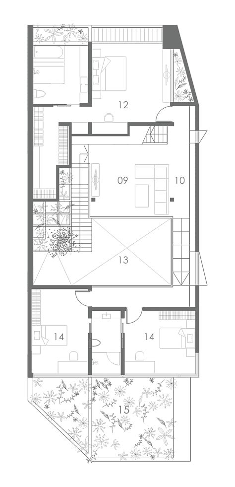 House Plans For View House gallery of terrace house formwerkz architects 11