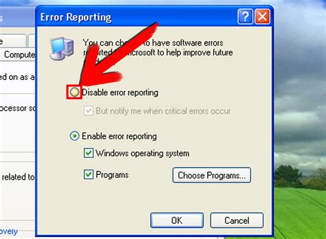 ccleaner extract error writing to file how to disable windows error reporting 4 steps with