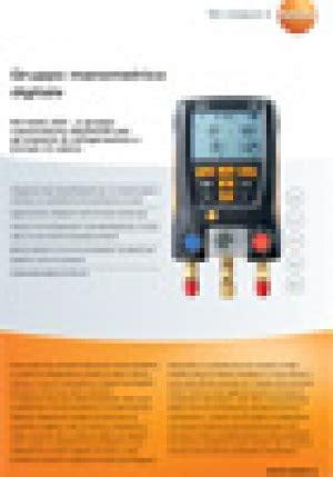 calore testo testo 550 kit per manutenzione impianti refrigerazione e