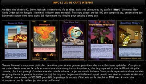 illuminati carte jeu de cartes quot illuminati nouvel ordre mondial quot we are