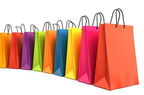 shooping for 3d render of colorful shopping bags 3d render of