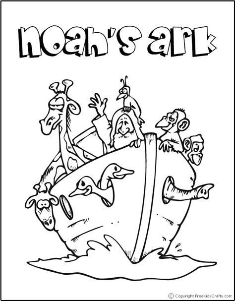 free coloring pages of bible stories noah s ark on noah ark bible stories and free