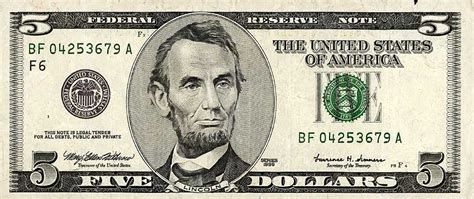 abraham lincoln on the five dollar bill abraham lincoln facts for facts about abraham