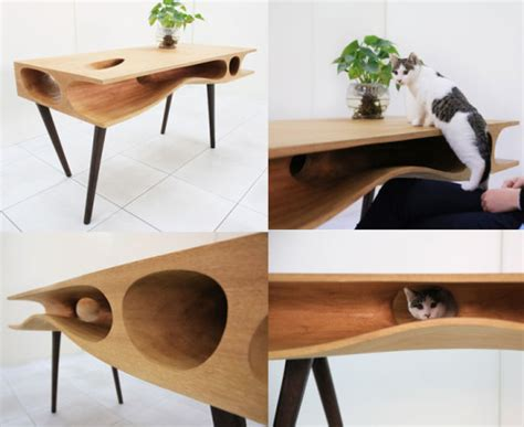 cat bed side table the bloq by binq design how to keep the cat off your keyboard