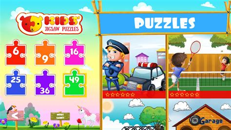 Boys Puzzle by Puzzles For Version With More Than 80 Puzzles