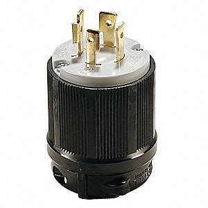 0332 Nema Top Black Grey power locking l15 20p 20a 250v 3 hp 29tk42 29tk42 grainger
