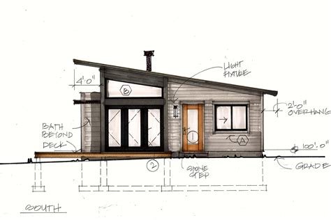 small modern mountain house plans modern mountain cabin floor plans