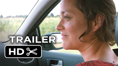french film one day two nights two days one night official trailer 1 2014 marion
