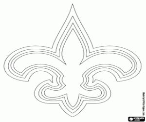 nfl saints coloring pages nfl logos coloring pages printable games 2